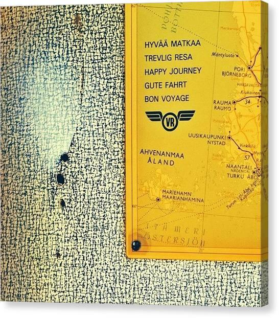 Trainspotting Canvas Print - steamrail 20 Years 4/6  #steamrail by Mikko Lohenoja
