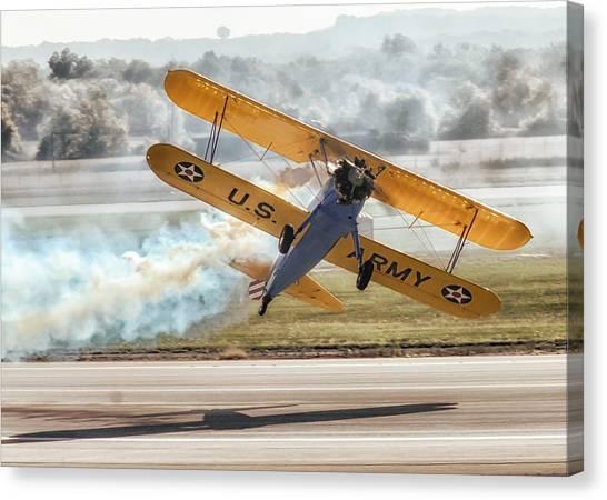 Stearman Model 75 Biplane Canvas Print