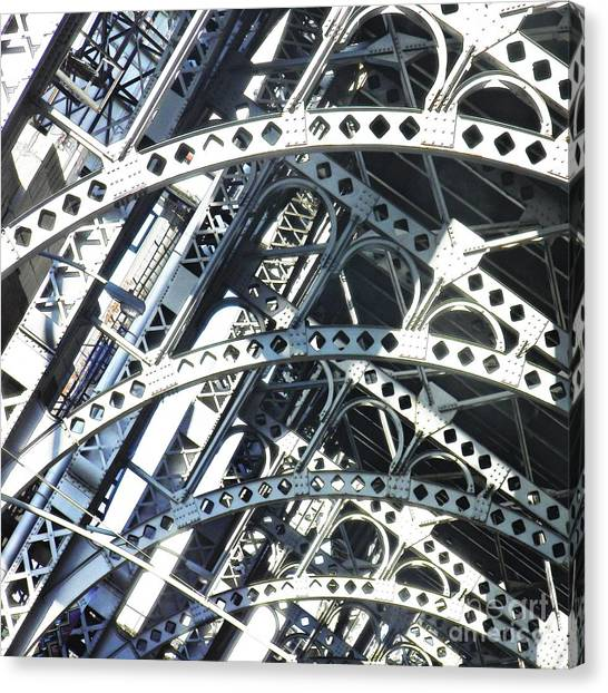 Steel Arches Canvas Print