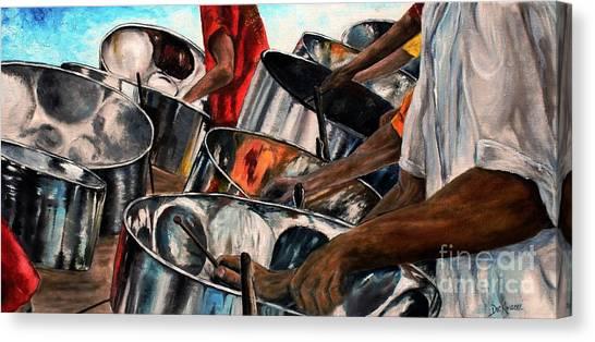 Steelband Music Sweet Canvas Print