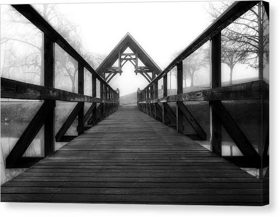 Steele Creek Crossing Canvas Print