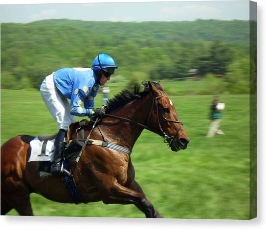 Steeplechase Canvas Print