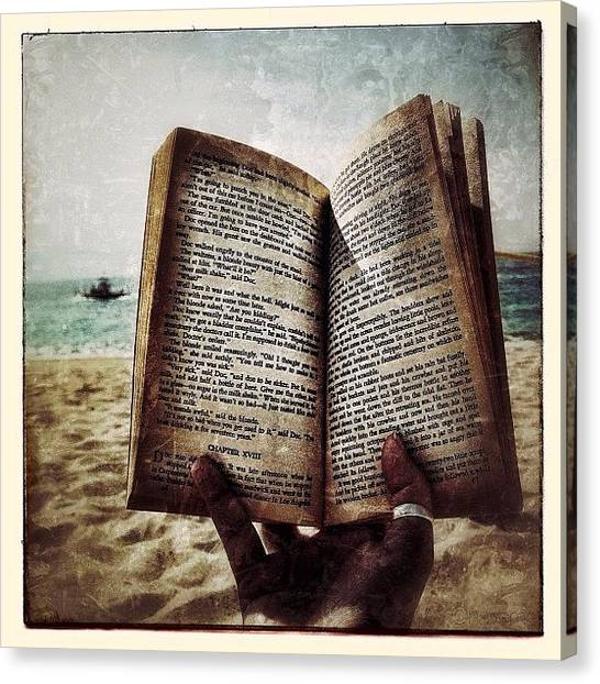 Supplies Canvas Print - Steinbeck By The Seashore by Natasha Marco