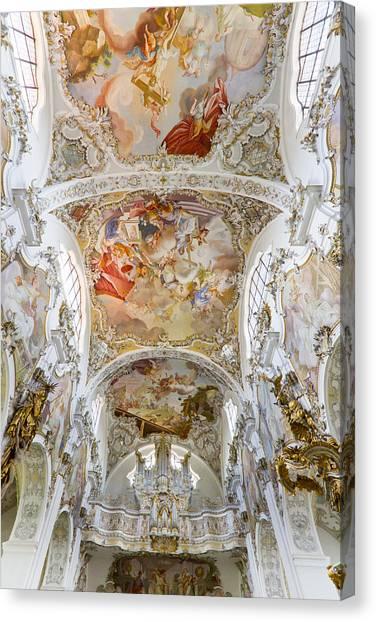 Steingaden Abbey Canvas Print
