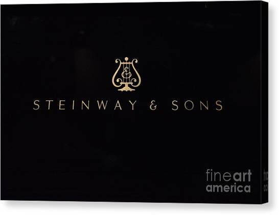 Steinway And Sons Canvas Print