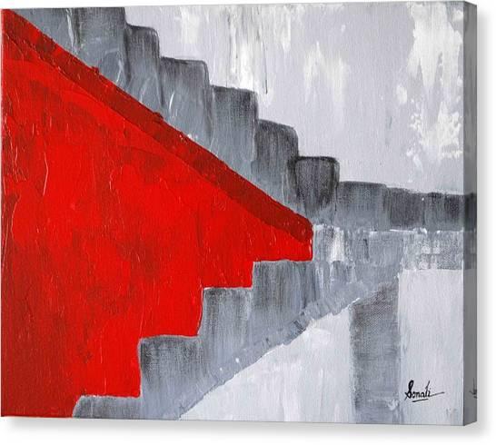 Step Up 2 Canvas Print