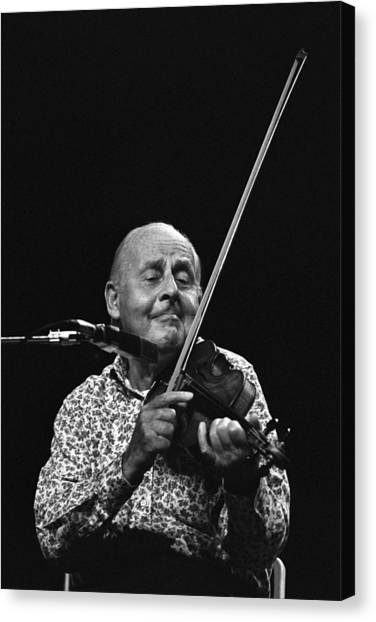Stephane Grappelli   Canvas Print