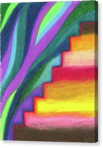 Steps To The Future Canvas Print