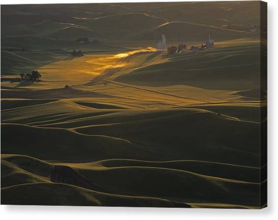 Steptoe Butte Sunset Canvas Print