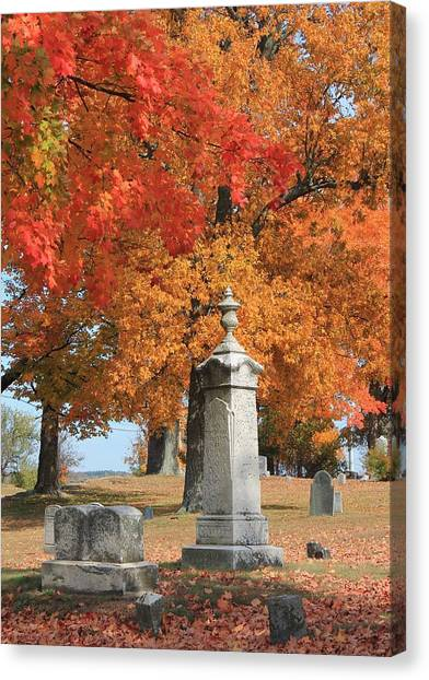 Sterling Ma Burial Ground Canvas Print