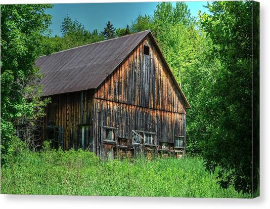 Sterling Valley Barn Canvas Print