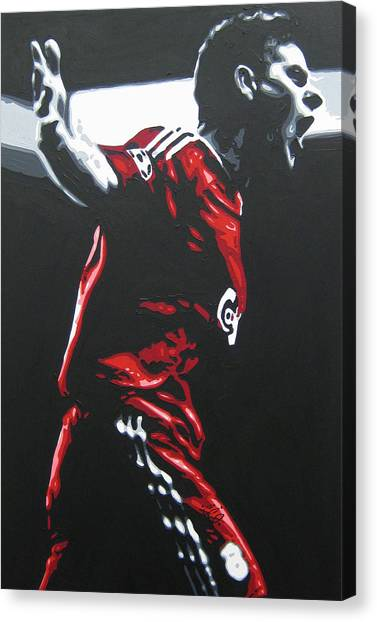 Liverpool Fc Canvas Print - Steven Gerrard - Liverpool Fc 2 by Geo Thomson