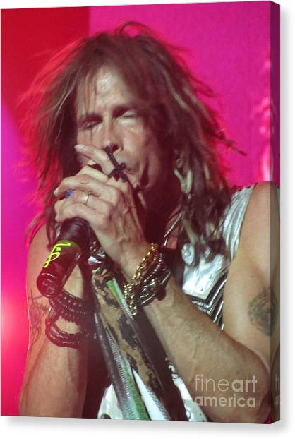 Steven Tyler Picture Canvas Print