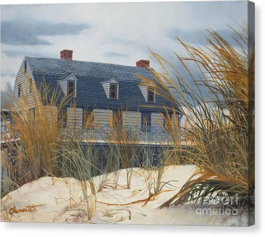 Stevens House Canvas Print