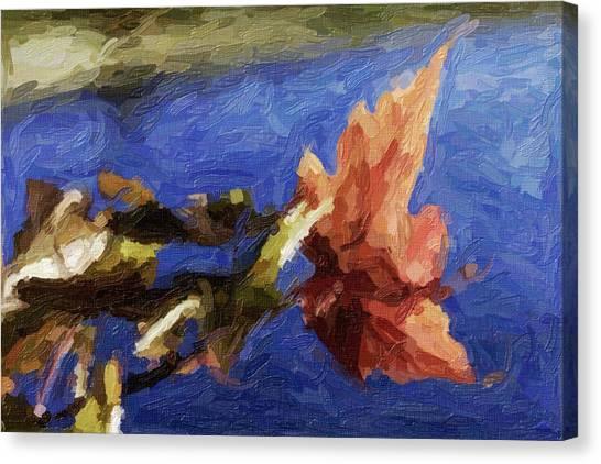 Stevens Lake Park Series 12 Canvas Print by David Allen Pierson