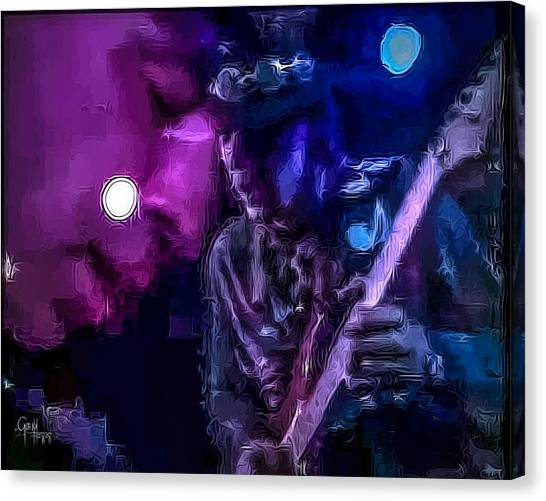 Stevie Ray Vaughan - Lenny  Canvas Print