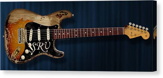 Stevie Ray Vaughan Stratocaster Canvas Print