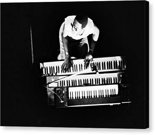 Stevie Wonder - Balconey View Canvas Print