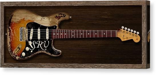 Stratocasters Canvas Print - Stevie's Strat by WB Johnston