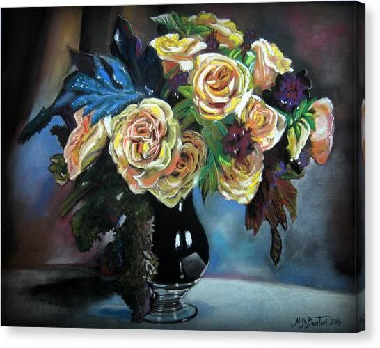 Still Life Flowers Canvas Print