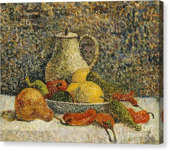 Post-impressionism Canvas Print - Still Life by Paul Gaugin
