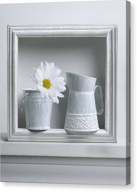 Still Life With A Wooden Box Canvas Print