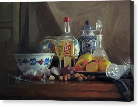 Still Life With Els Canvas Print