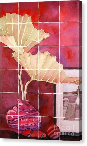 Still Life With Grid Canvas Print by Gwen Nichols