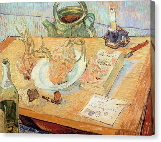 Rijksmuseum Canvas Print - Still Life With Onions by Vincent van Gogh