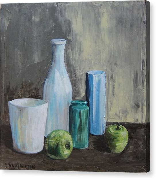 Still Life With Vases 2014 Painting By Maria Melenchuk