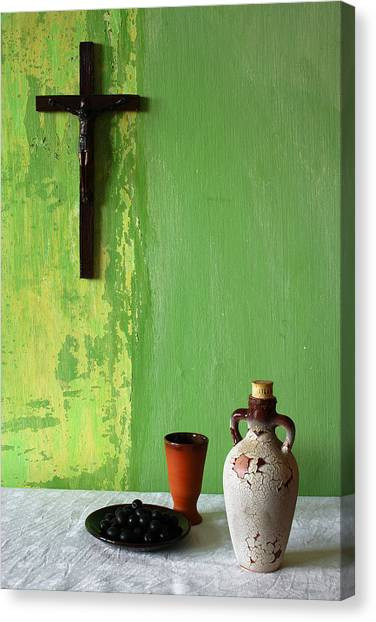 Still Life_005 Canvas Print by Vladimir Hamanov
