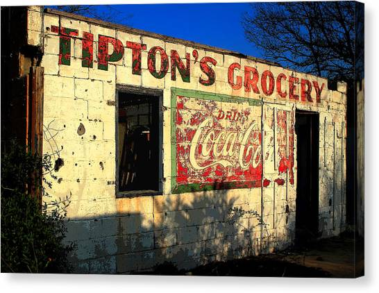 Grocery Store Canvas Print - Still Standing by Michael Eingle
