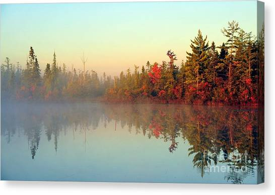 Still Water Marsh Canvas Print