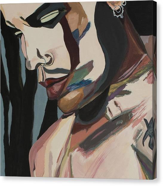 Stillness Of Heart Portrait Crop Canvas Print