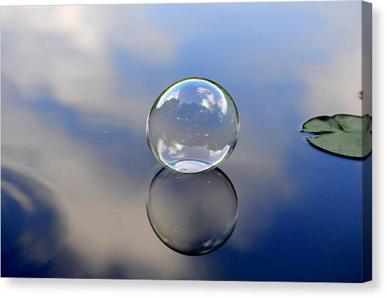 Stillness Of Water Canvas Print