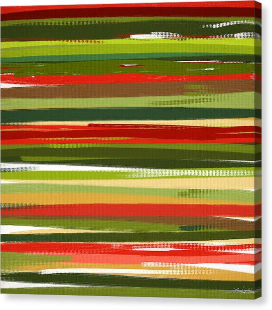 Spinach Canvas Print - Stimulating Essence by Lourry Legarde