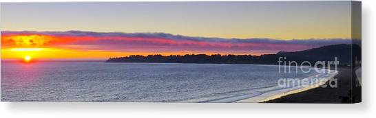 Stinson Beach Sunset Canvas Print