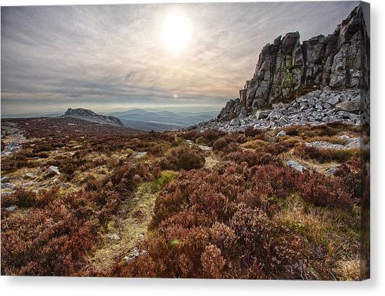 Stiperstones National Nature Reserve Canvas Print