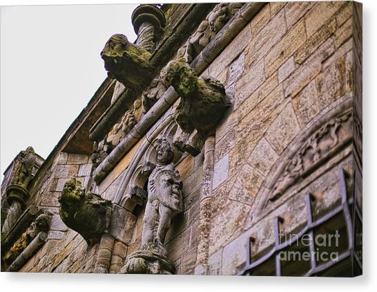 Stirling Castle Detail Canvas Print by Kate Purdy
