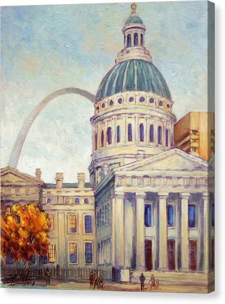 St.louis Old Courthouse Canvas Print