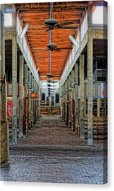 Stockyard Mall Canvas Print