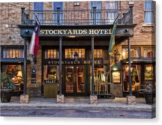 Stockyards Hotel Canvas Print