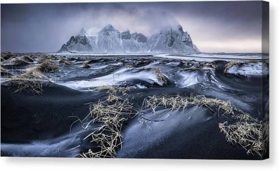Panorama Canvas Print - Stokkness Morning by Ivan Pedretti