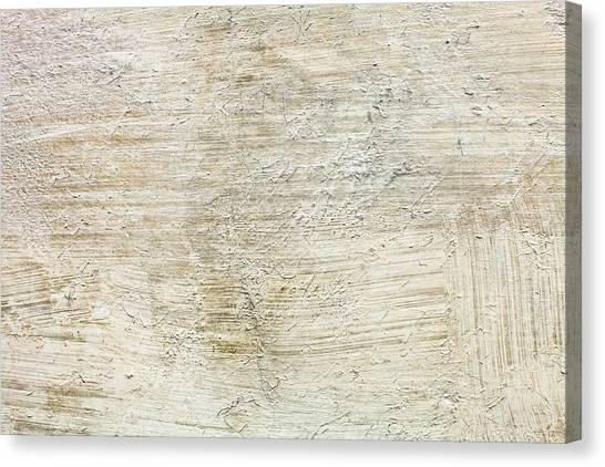 Cement Canvas Print - Stone Background by Tom Gowanlock