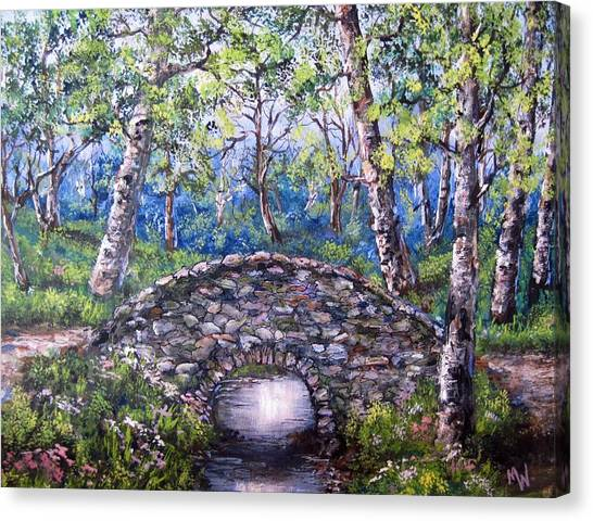 Stone Bridge 2 Canvas Print