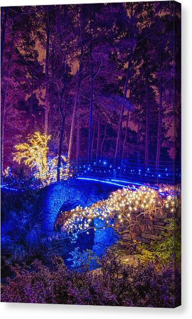 Stone Bridge - Full Height Canvas Print