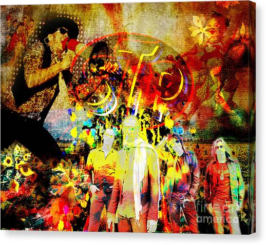 Stone Temple Pilots Canvas Print - Stone Temple Pilots Original  by Ryan Rock Artist