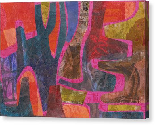 Stone Tree Sunrise Canvas Print