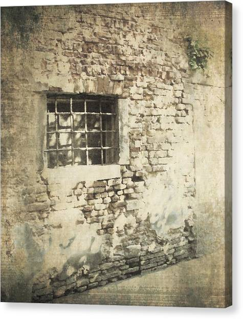 Stone Wall Canvas Print