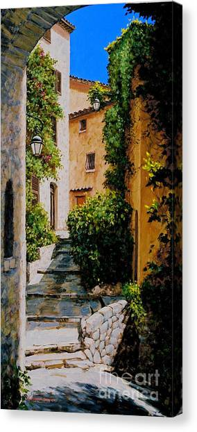 Stone Works Canvas Print by Michael Swanson